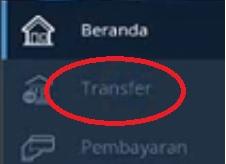 Gambar 2 cara transfer via mandiri online ke bank lain