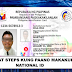 Good News: All Filipinos Can Now Avail National I.D For Free