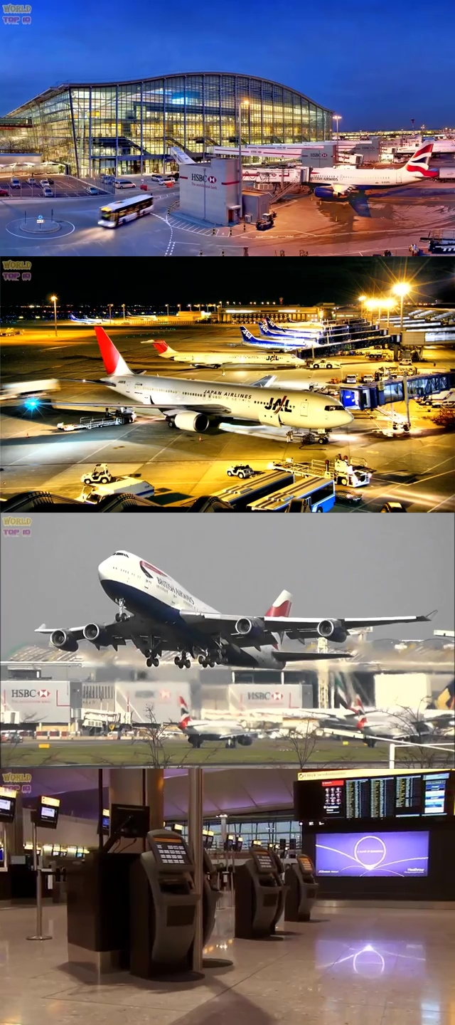 top airports in the world, top ten best airport, best airport in the world, top ten best airport in the world, London Heathrow Airport