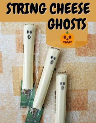 Halloween Ghosts String Cheese