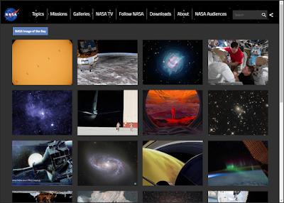 موقع وكالة الفضاء العالمية NASA