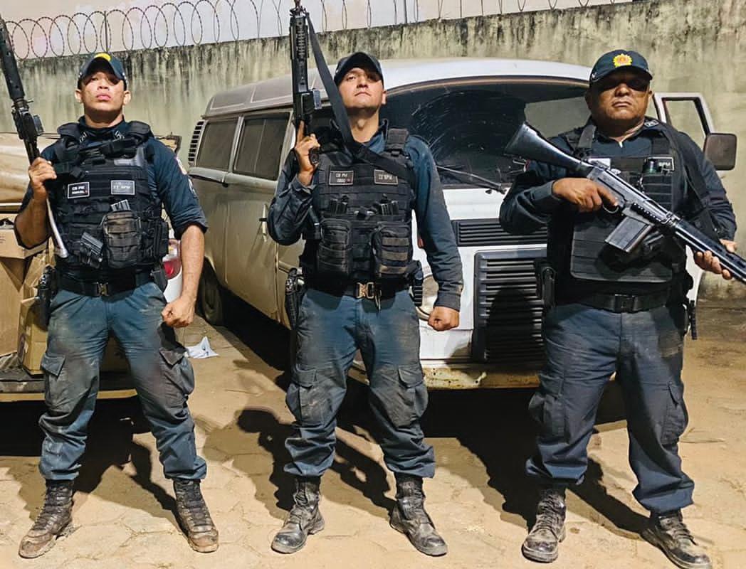 PM recupera carga da empresa Souza Cruz e suspeito morre em troca tiros.