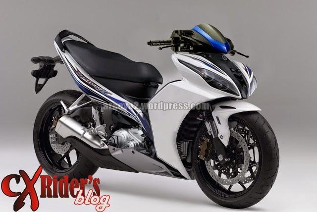Modifikasi Motor Yamaha Jupiter Z 2010 Moge
