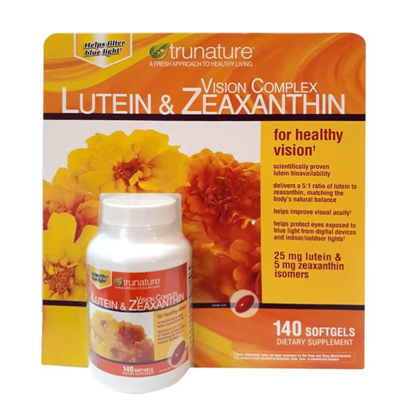 Trunature Vision Complex Lutein & Zeaxanthin 140v