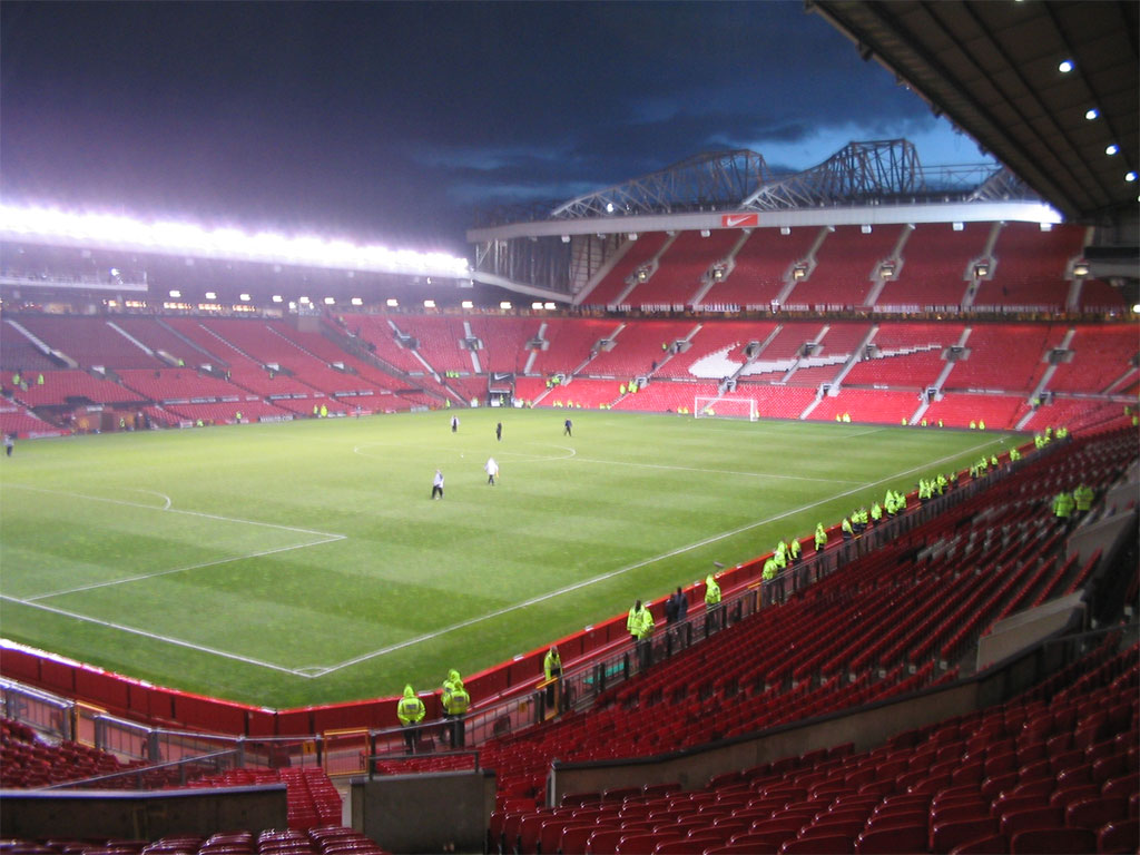 Old Trafford Stadium : Manchester United - Soccer Series ...