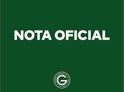 Goiás emite Nota Oficial sobre acordo com o Flamengo
