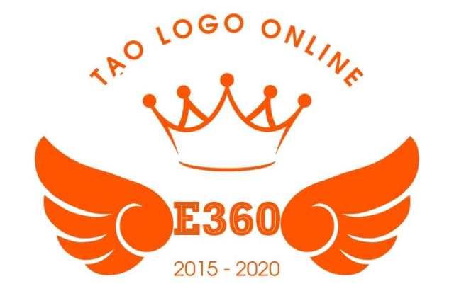 Mẫu logo hình vương miện - Hình 1