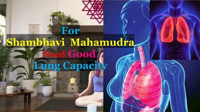 Lung Capacity for Shambhavi Mahamudra