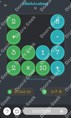 "Math Academy ""U"" cheats, walkthrough"