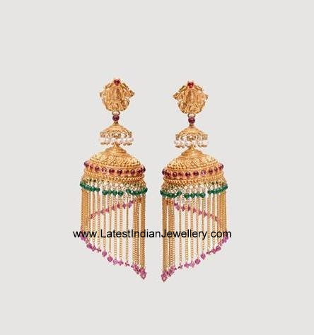 Light Weight Chandelier Jhumkas