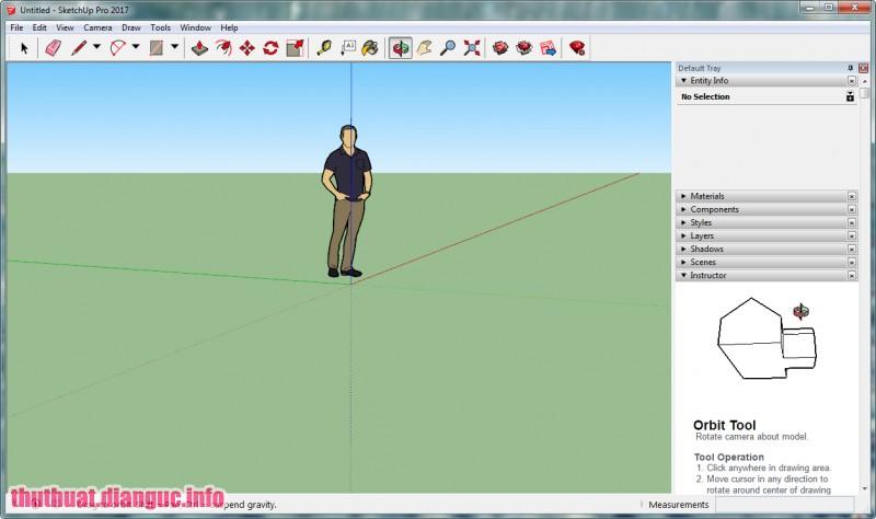 Download SketchUp Pro 2017 Full cr@ck - Công cụ vẽ mô hình 3D