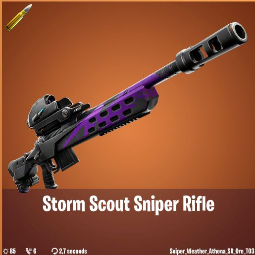 Storm Scout, New Sniper Rifle, Impression, Fortnite BR