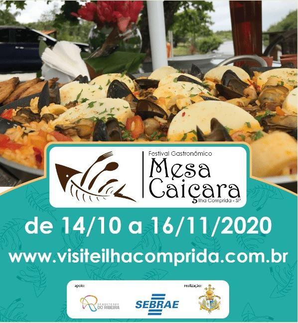 Ilha Comprida lança mais uma edição do Festival Gastronômico Mesa Caiçara