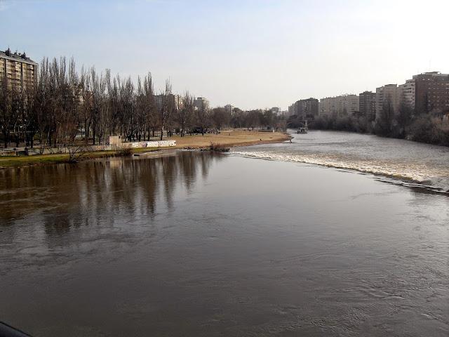 Pisuerga por Valladolid