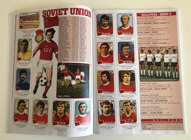 Figurine Unione Sovietica Euro 76