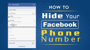 Can I Hide My Mobile Number on Facebook?