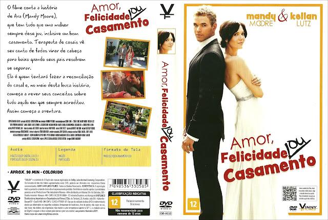 Capa DVD Amor, Felicidade ou Casamento