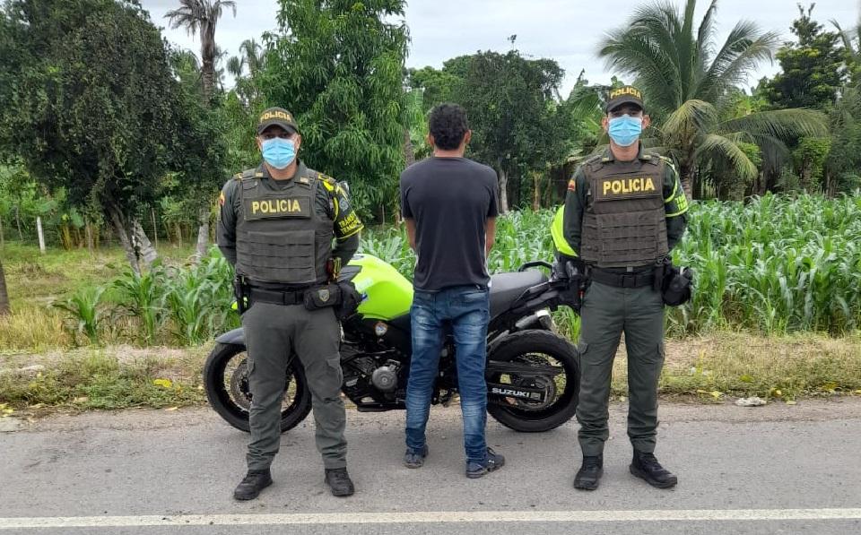 Capturado por orden judicial