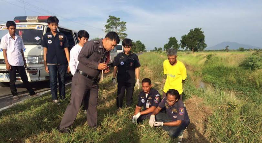 Graphic photos: Body of newborn baby without arms and legs found
