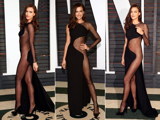 Irina Shayk di Oscar Party