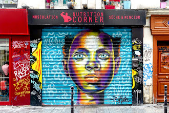 Sunday Street Art : MyRòn - rue de l'Echiquier - Paris 10
