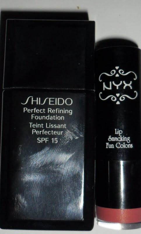amigas makeup probando perfect refining foundation shiseido. Black Bedroom Furniture Sets. Home Design Ideas