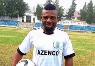 Nigeria Footballer Victor Emenayo