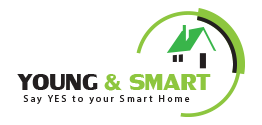 Young and smart logo