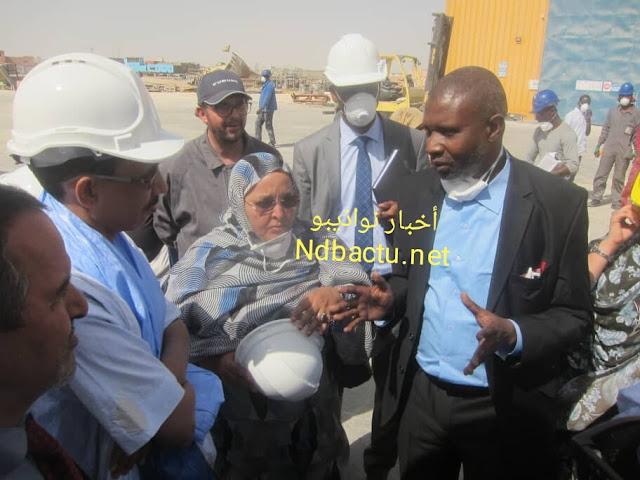 نواذيبو : شركة السفن تستقبل الفريق البرلماني المناصر للبيئة - صور