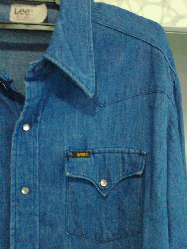 e703114d110 Vintage 60s Lee Western Denim Shirt. You might also like: