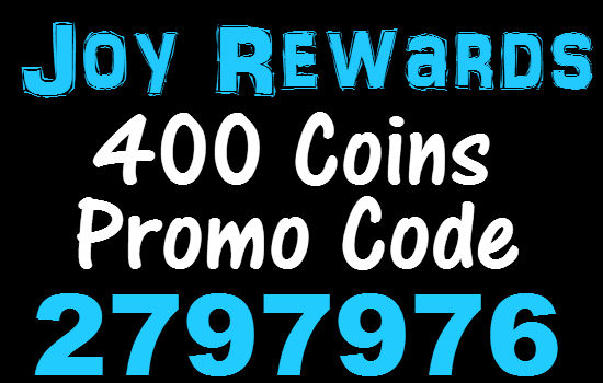 Joy Rewards Invitation Code 2020, 400 Coins Bonus JoyRewards Promo Code 2020 March, April, May, June, July, August