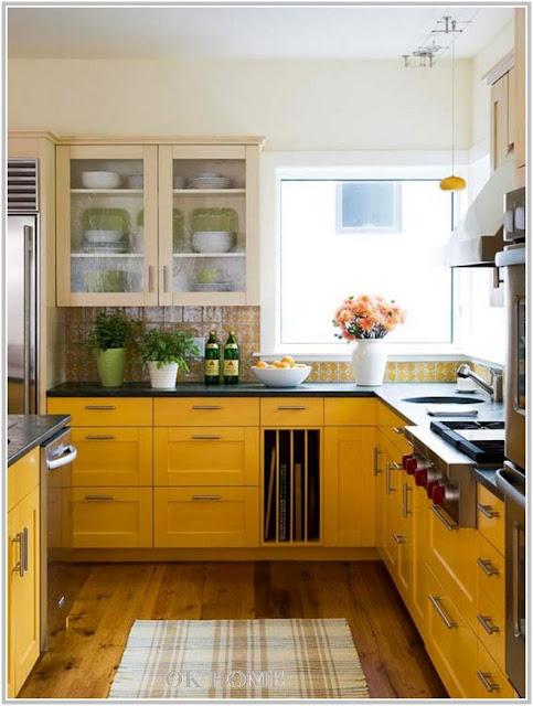 yellow kitchen decorating ideas photos