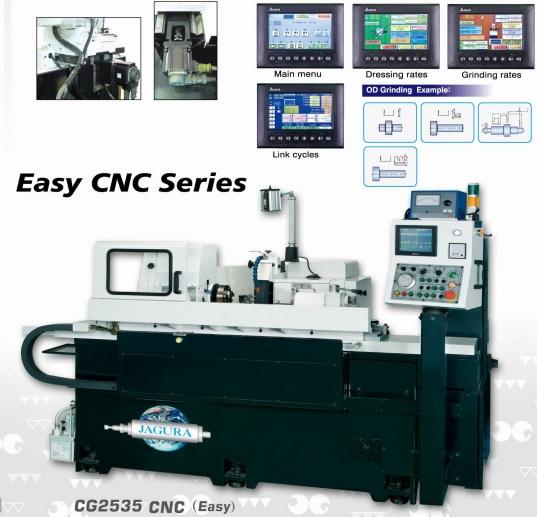 hình ảnh máy mài tròn ngoài dòng CNC đơn giản