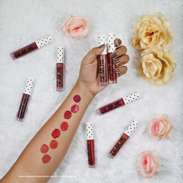 Dear Me Matte Lip Swatches