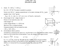 HC Verma Solutions: Chapter 30 - Gauss Law