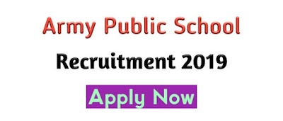 Army Public School Recruitment (APS) 2019 । Govt Job Of Assam । Job In Assam