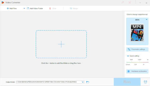 Screenshot WonderFox HD Video Converter Factory Pro 18.1 Full Version