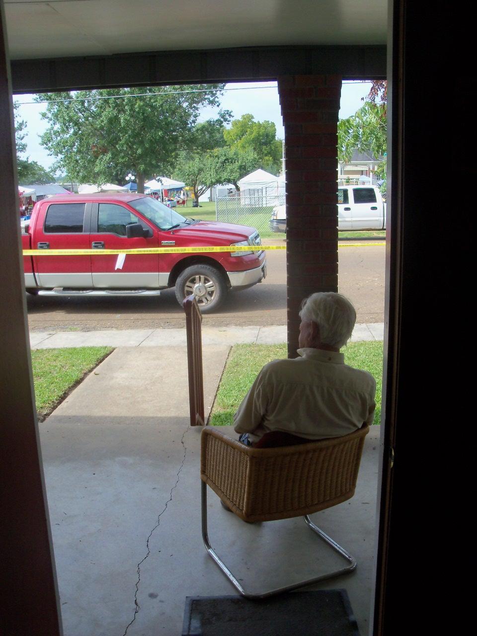 Deer Camp Blog: Looking Out My Front Door