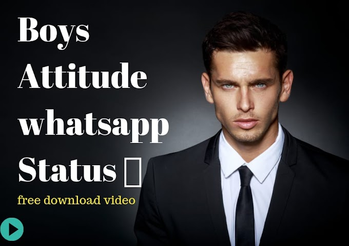 Boys Attitude Status 🔥| Attitude WhatsApp Status Video