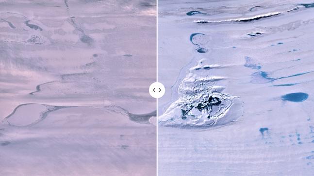 Un enorme lago antartico è scomparso misteriosamente in tre giorni