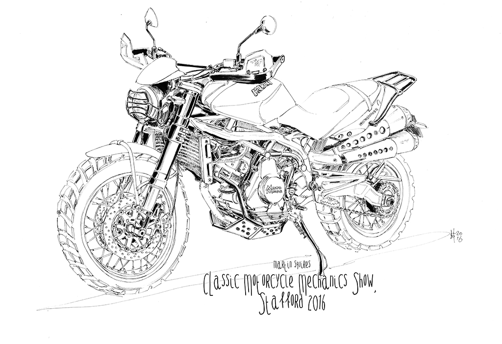 Martin Squires Automotive Illustration