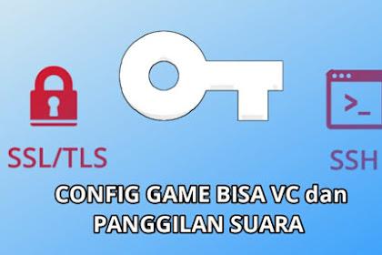 Config Axis SSH SSL/TLS Sockshttp Buat VC dan Panggilan Suara
