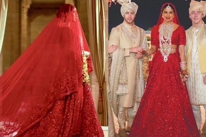 Kisah Di Sebalik Gaun Merah Pengantin Priyanka Chopra Yang Sangat Cantik