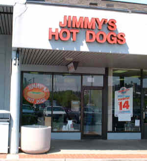 Jimmys Hot Dogs Maxwell Street