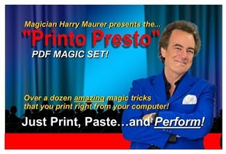 """Printo-Presto"" Magic Set!"