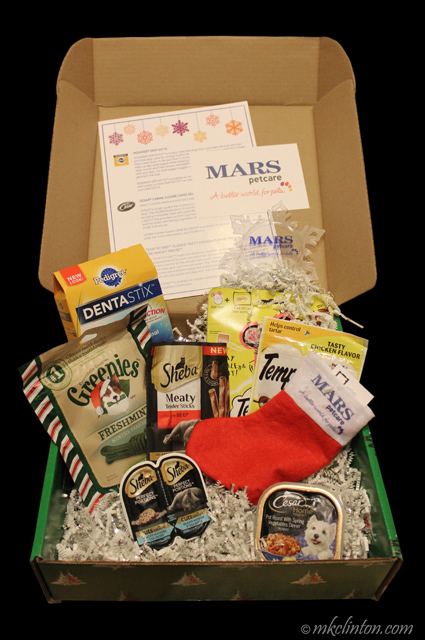 Thanks to Mars Petcare for our Christmas present