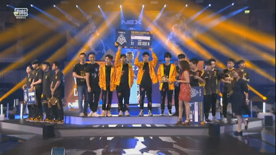 PMCO global final 2019 in berlin win TOPEsports team in PUBG MOBILE