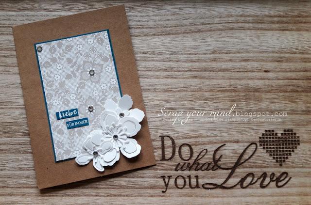 Hochzeit-Karte-Designerpapier