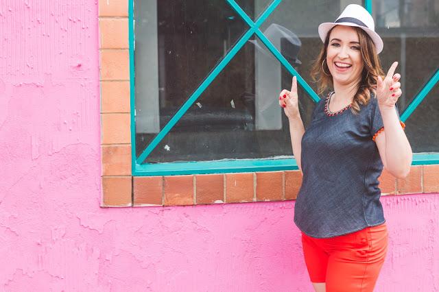 looks para o carnaval, inspiração para o carnaval, blog camila andrade, short laranja, blusa jeans, blogueira de moda em ribeirão preto, fashion blogger em ribeirão preto, o melhor blog de moda, blog do interior paulista, blog de dicas de moda