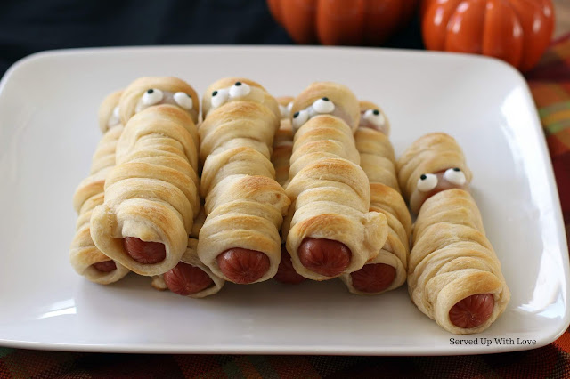 Mummy Dogs recipe at Served Up With Love